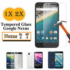 2x Anti Scratch Tempered Glass Screen Protector for LG Google Nexus 5 5X 6 6p