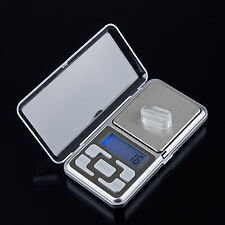 DIGITAL LCD ELECTRONIC JEWELRY POCKET PORTABLE GRAM WEIGHT BALANCE SCALE FAST