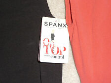 NWT Spanx Shapewear On Top & In Control Sophisticated Sleeveless Crew #982 R.$72