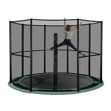 14ft Round Inground Trampoline with Full Net - Made in Europe- Free Delivery