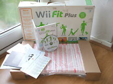 OFFICIAL NINTENDO WII FIT PLUS BALANCE BOARD +GAME FULLY BOXED WORKS WII & WiiU