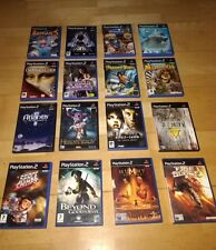 Various Complete PlayStation 2 (PS2) Games