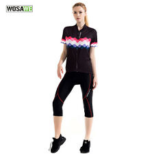 Womens Cycling Jerseys & Shorts Sets MTB Bike Bicycle Clothing Sports Suit