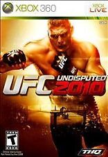 UFC Undisputed 2010 Xbox 360 Ultimate Fighter Video Game Complete