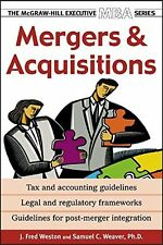 Mergers and Acquisitions by J. Fred Weston New Paperback Book