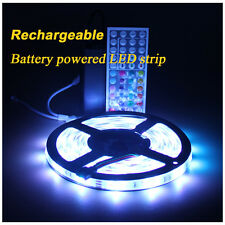 Rechargeable Battery Powered led lights strip Waterproof For Longboard Camping