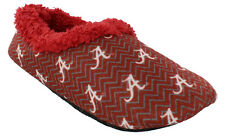 Happy Feet Mens and Womens NCAA College Chevron Slip On