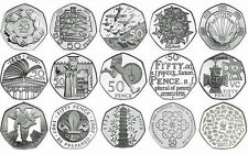 Various Rare and Commemorative Coin Hunt 50p Coins