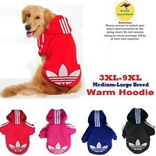 Warm Dog Hoodie Jumper Adidas Jacket Pet Sweater Cotton For Large Breeds/Dogs