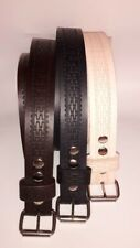 """HEAVY DUTY WESTERN HAND MADE 1.1/2"""" W REAL LEATHER  WORK BELT  TOOL HOLSTER"""