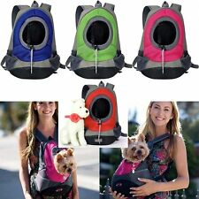 Pet Front Carrier Dog Cat Puppy Travel Bag Mesh Backpack Head out Carrier Bag