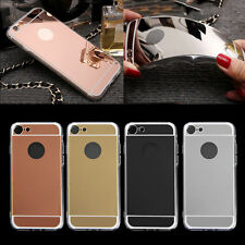 Ultra Thin TPU Mirror Case Cover Protector For iPhone 7 Samsung Galaxy S7 edge