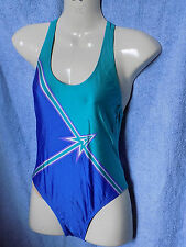 DIANIA Sport Swimming Costume Swim Suit Irene Blue Size 34 36 New with Tags