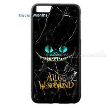 Alice In Wonderland Cheshire Cat for iPhone 6 6s 6s+ 7 Hard Plastic Cover Case