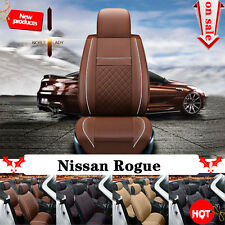 Front & Rear Main Fit Nissan Rogue 2013-2016 Car Seat Cover Mat W78t All Weather