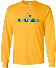 Air Namibia Retro Logo Namibian Airline Long-Sleeve T-Shirt