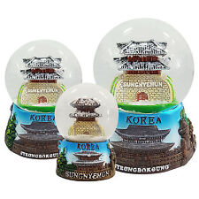 Sungnyemun Snow Globe Collectible Korea Souvenir Snow Dome Statue Snow Ball Gift