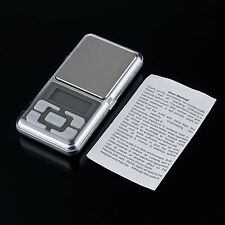 1x Electronic Pocket Digital Gold Jewelry Scale 0.01 Weight 200g 500g up-to-date