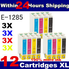 12 COMPATIBLE INK CARTRIDGES FOR  STYLUS INKJET PRINTER