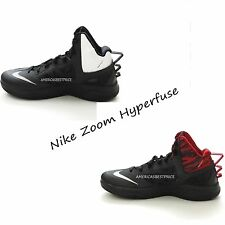 NIKE ZOOM HYPERFUSE NEW MENS BASKETBALL SHOES SNEAKERS BLACK NWT RETAILS FOR$100