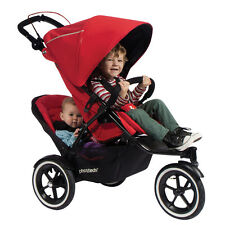 Phil & Teds Sport (New Version with Auto Stop Brake) Double Pushchair