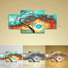 Large Feng Shui Picture Abstract Print Painting Dining Room 4 Panels Art