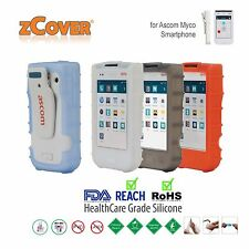 zCover Ruggedized HealthCare Grade Back Open Silicone Case for Ascom Myco