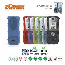 zCover Dock-in-Case Ruggedized HealthCare Grade Silicone Case for Ascom d62 /i62