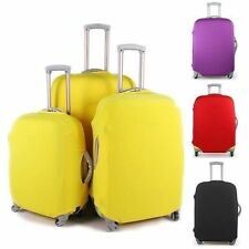 Colorful Luggage Travel Protector Suitcase Cover Trolley Suitcase Bags Black Dus