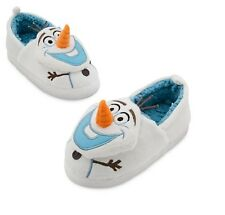 Brand New With Tags Genuine Disney Frozen Olaf Slippers Size 7-8,9-10,11-12,13-1