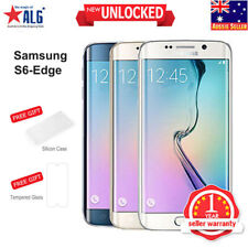 New Samsung Galaxy S6 Edge G925F LTE 4G Mobile 32GB 1Yr Wty in Sealed Box