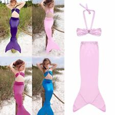 Ariel Little Mermaid Tail Dress Children Kids Girls Kid Mermaid Tails Costume BP
