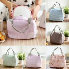 Insulated Thermal Cooler Lunch Box Carry Tote Picnic Case Storage Portable Bag