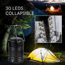 30 LED Camping Lantern Portable Collapsible Light Outdoor Hiking Work