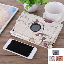 360 Rotating PU Leather Case Smart Stand Protective Cover Skin For IPad 2/3/4