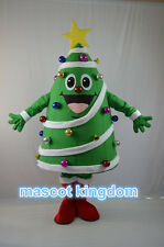 Hot Fancy Party Dress Adult Size Outfit Christmas Tree Mascot Costume