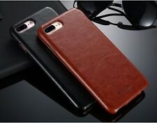 iPhone 8 7 6 6S Plus 5S SE Vertical Flip Leather Case For Apple Magnetic Case
