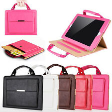 Handbag PU Leather Magnetic Stand protective Case Cover for iPad 2 3 4 / Mini 2