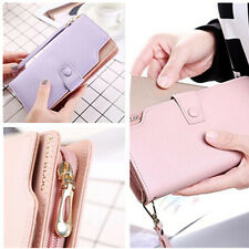 1Pcs Leather Brand New Fashion Purse High Capacity Women Wallet Women Gift HOT
