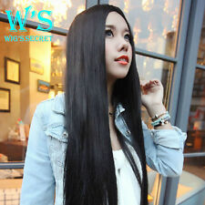 Vogue Human Hair Lace Front Wigs Natural Color Body Wave Straight Full Lace Wig