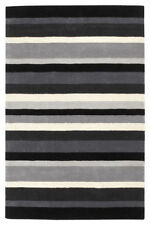 NEW MORDEN STRIPES 100% Wool HIGH QUALITY RUG SIZE S- M -LARGE  NOW ON SALE