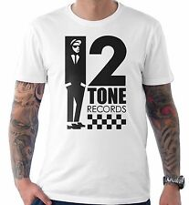 2 Tone Records Two Ska Reggae Rude Boy Specials Selecter Madness Beat T Shirt