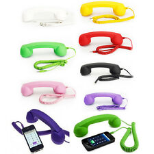 Retro Telephone Handset Design Mobile Phone Headset Earphone For iPhone Samsung