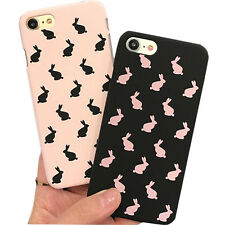1Pcs New Cover For iPhone Case Kit Rabbit Back Cartoon Phone Fashionable Cute