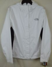 The North Face 1986 Athletic Gym Womens Stinson Rain Jacket Sports White Black