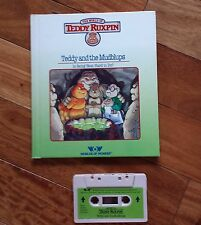 """TEDDY RUXPIN Tape/Book Set """"TEDDY AND THE MUDBLUPS"""""""
