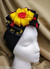 Mickey Mouse Headband with a Flower Button