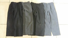 4 pairs boys grey school trousers 5-6 years