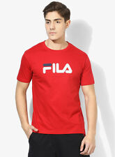 Fila Eagle Red Round Neck T-Shirt