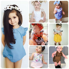 Summer Baby Infant Kid Girls One Piece Romper Bodysuit Jumpsuit Playsuit Clothes